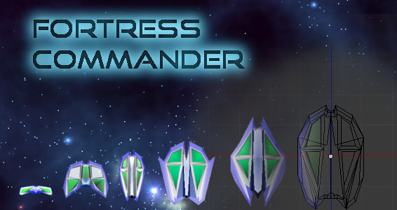 Introducing: Fortress Commander.  A new game that takes the hybrid of the casual relaxing fun of tower defense games and injects concepts from real time strategy games.